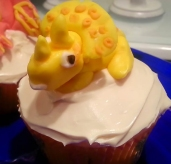 Maybe I watched the Land Before Time movies too many times. Cupcake By: Elizabeth Preston Photo By: Elizabeth Preston