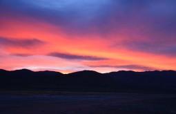 Pyramid Lake Sunset