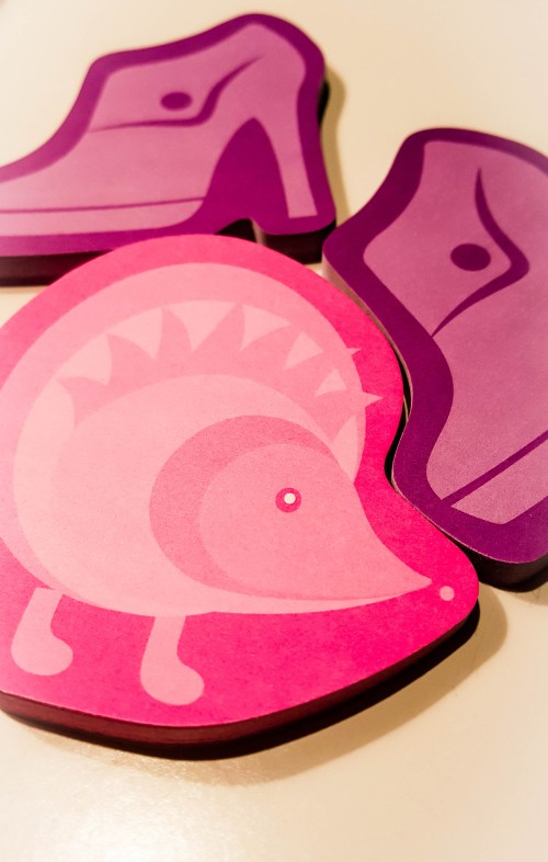Cute sticky notes.  Check. Sticky Notes By: Post-it Photo By: Elizabeth Preston
