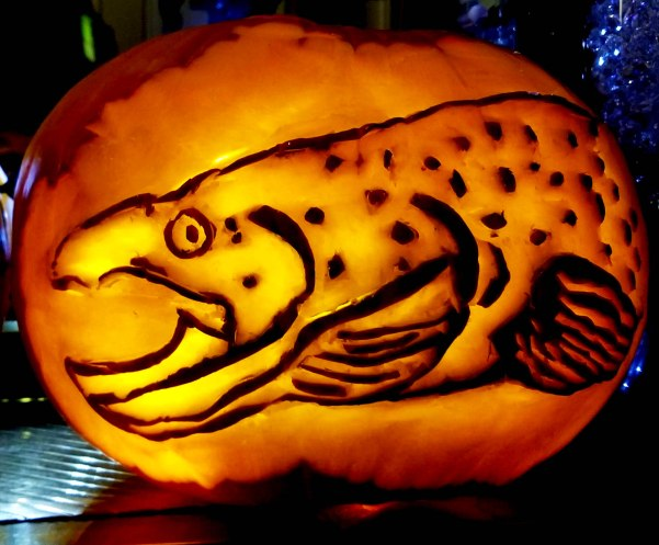 Trout Pumpkin